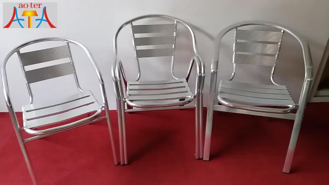 Classic Metal Aluminum Bistro Chair  Buy Aluminum Bistro