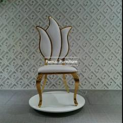 Alibaba Royal Chairs Hans Wegner Wishbone Chair Long Lifetime Flower Shape Gold White High Back