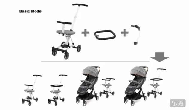 2019 New Baby Stroller 3 In 1 Innovative Product With