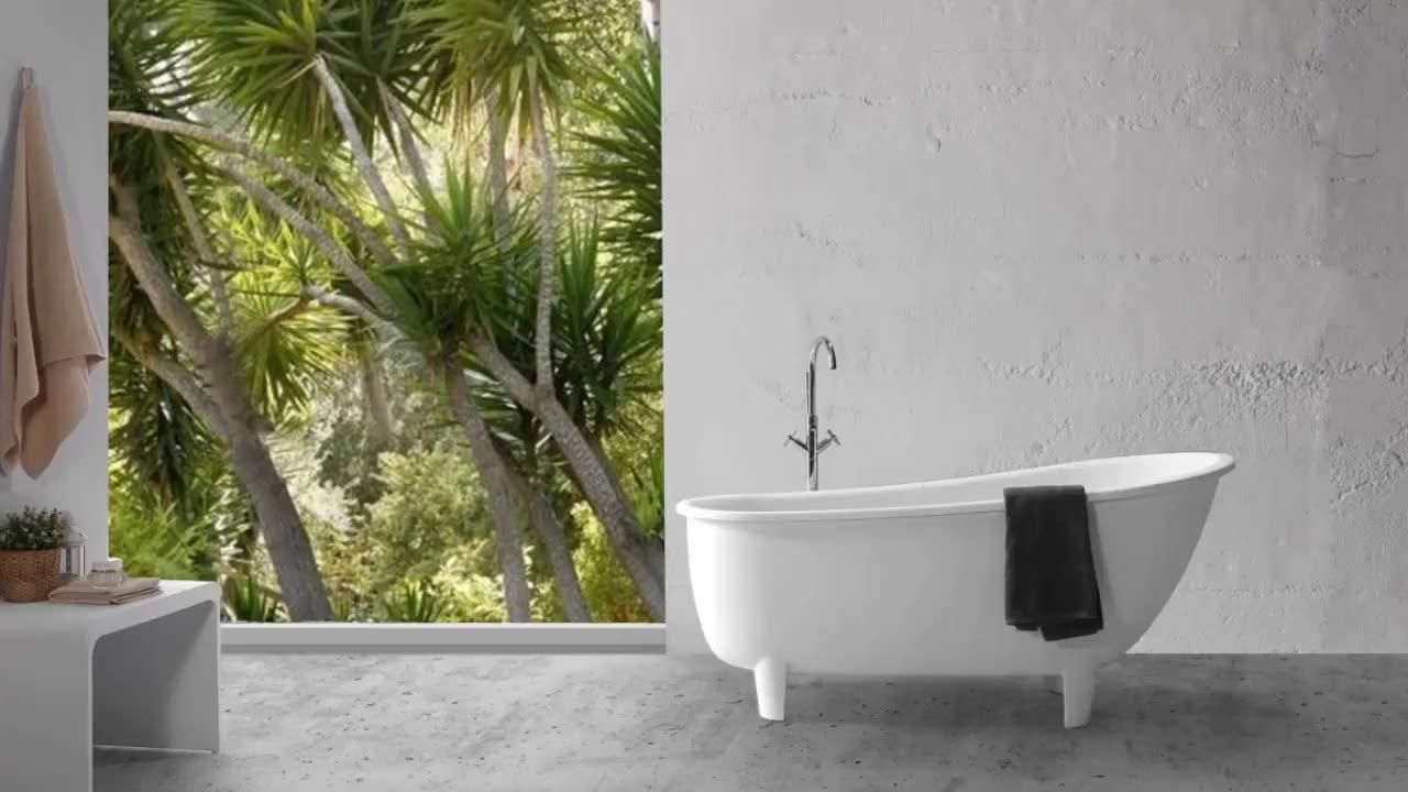 Artificial Stone Bathroom Bathtub Dimensions Used Cast Iron Bathtubs For Sale Buy Bathroom Bathtub Artificial Stone Bathtub Cast Stone Bathtub Product On Alibaba Com