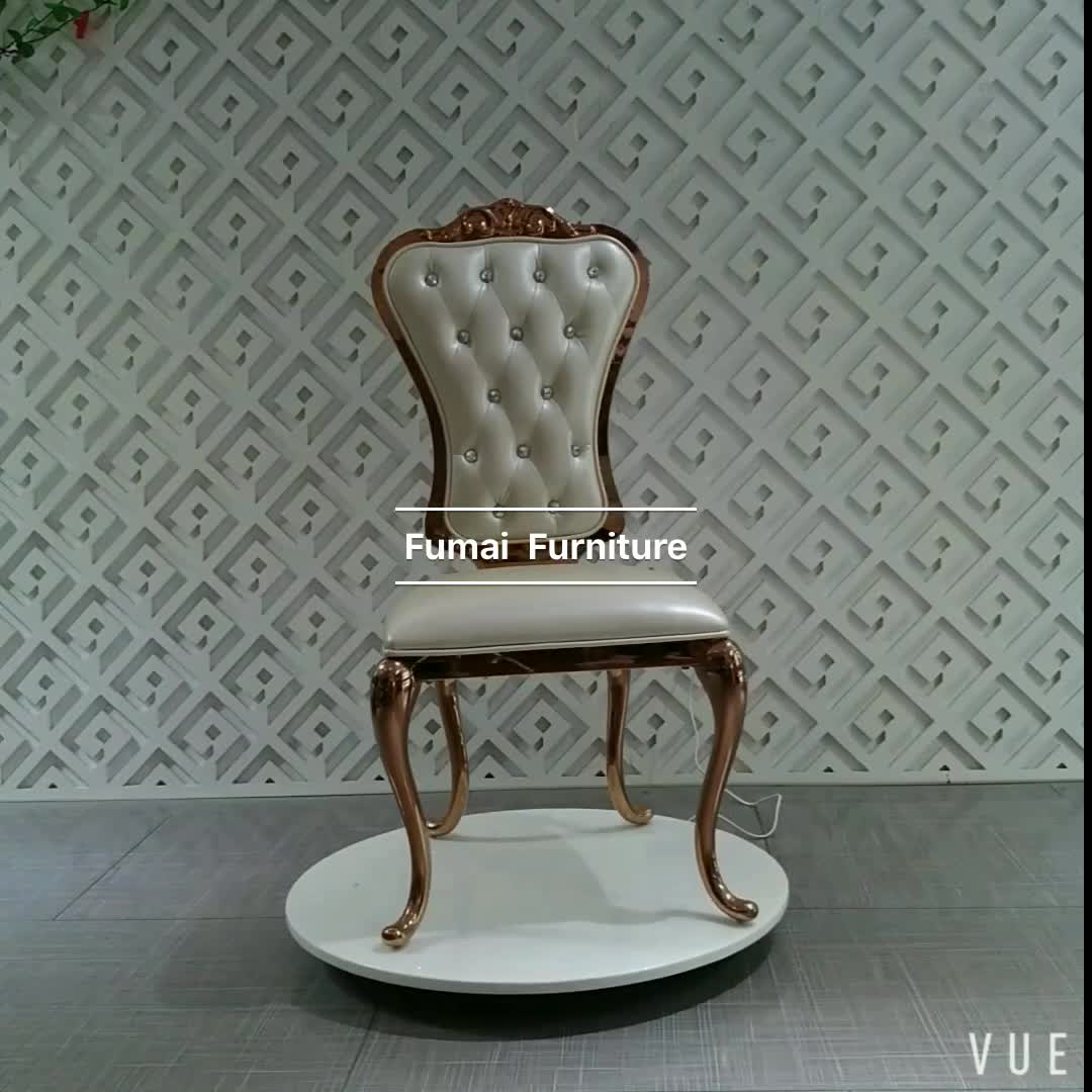 wedding chair alibaba covers for banquet export furniture stainless steel gold throne chairs luxury
