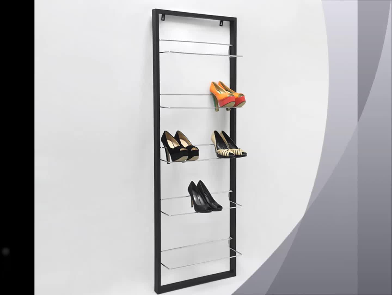 modern wall mounted metal black 5 tier shoes rack buy hanging shoes rack metal shoe rack designs metal frame shoe rack product on alibaba com