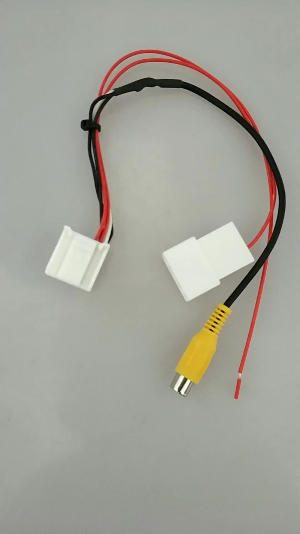 medium resolution of mazda ford iso wiring harness adaptor cable lead loom plug wire with 24 pin