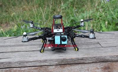 航模diy組裝 pa450全碳機架四軸APM/pix飛控航拍/fpv遠程無人機