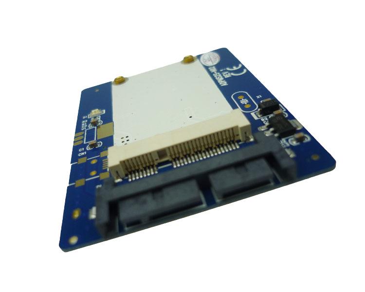 mSATA轉Micro SATA轉接卡 mini pcie固態ssd轉1.8寸Micro SATA