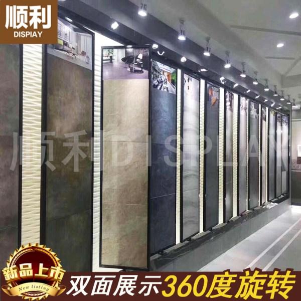 Usd 90.67 Ceramic Tile Exhibition Rack 800 Rotating Sample Tiles 300 600