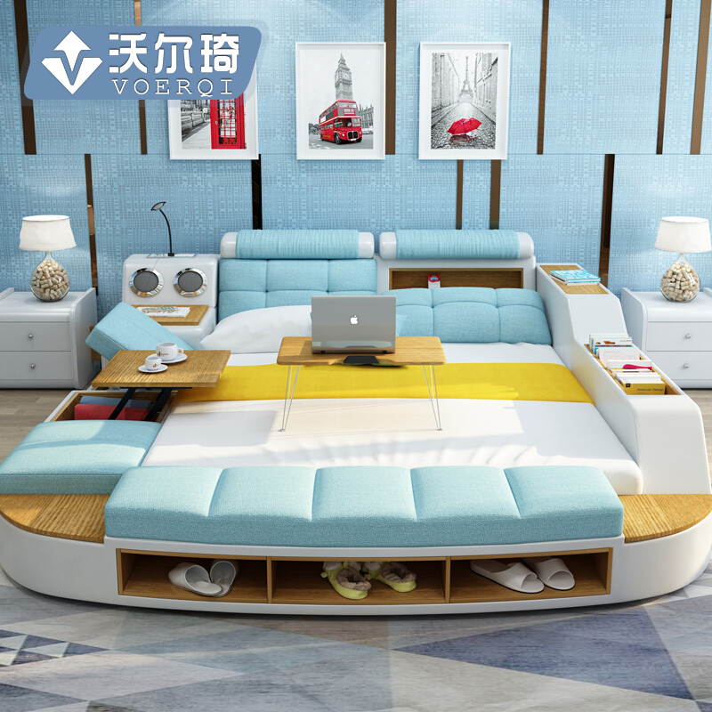Master Bedroom Multifunctional Tatami Bed Modern Www
