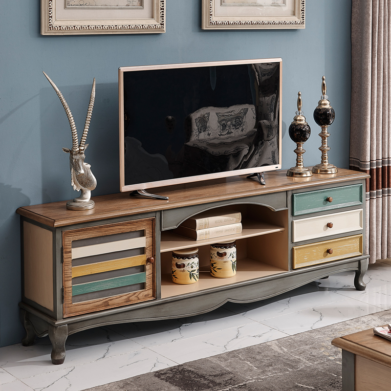 retro living room coffee table cute chairs usd 941 25 american tv cabinet small apartment mediterranean solid zoom lightbox moreview