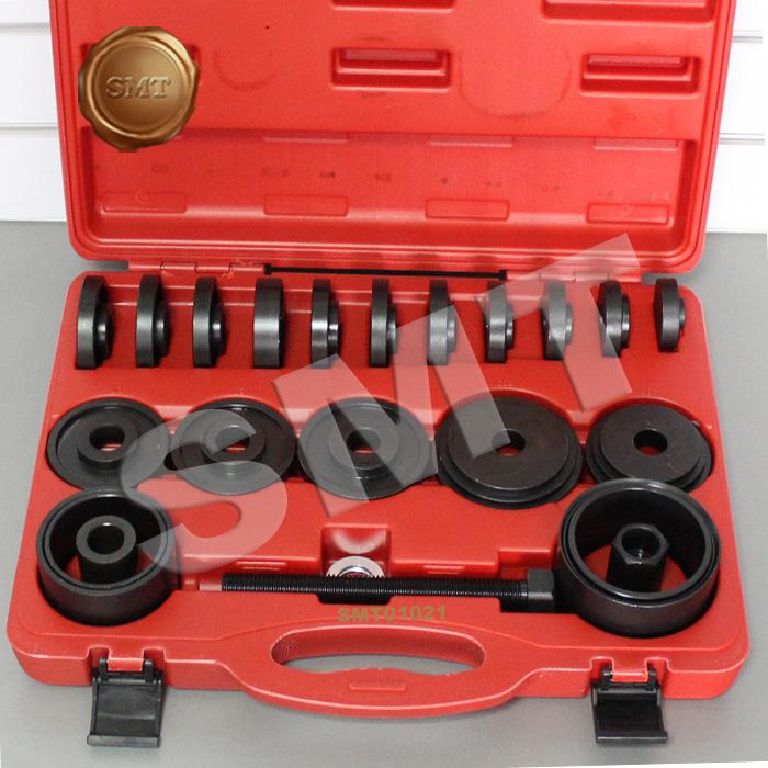 23件免拆式仰角培林拆卸器前輪軸承鐵套拆裝工具壓軸承專用工具