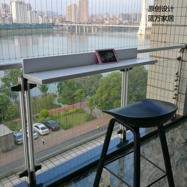 Balcony Railing Side Table Year Of Clean Water