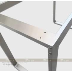 Kitchen Table Legs Brick Floor 304不锈钢金属餐厅台支架饭桌餐桌桌架厨房橱柜脚架会议桌桌腿 厨房桌腿