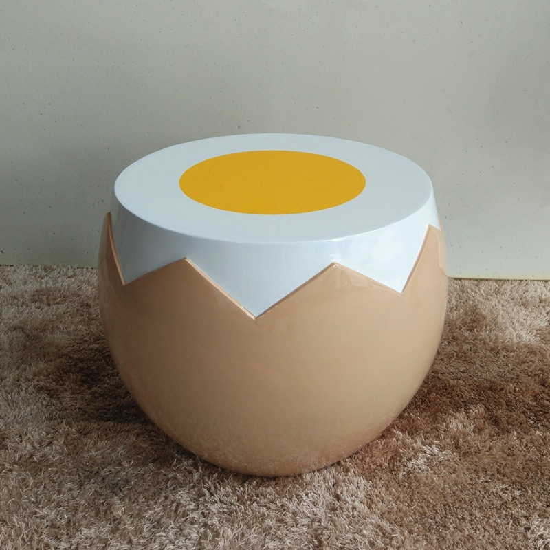 fried egg chair barcelona chairs usd 236 96 personality creative glass steel shell color classification single coffee table