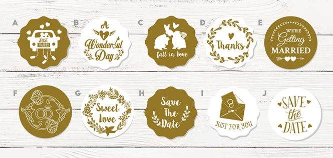 Usd 4 54 Gift Box Paste Invitation Envelope Seal Stickers