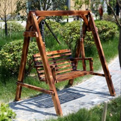 Hanging Chair Double Reclining Accent Usd 99 21 Special Solid Wood Swing Outdoor Rocking Carbonized Anti Corrosion Wooden