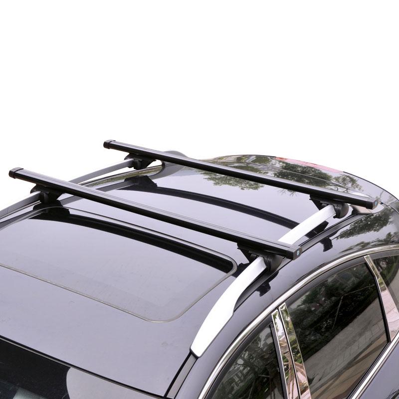 2X Black Roof Rack Crossbar Rack Roof Carrier For Subaru