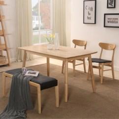 Unique Kitchen Tables Curtain Sets 一张好餐桌 让吃饭都变成一种享受 潮流资讯 闺蜜式淘货网站 蜜儿miiee 这款餐桌椅采用北美进口优质水曲柳木 全实木打造 结实耐用 木纹清晰自然 健康环保 桌子设计风格简约 椅子的设计很特别 采用单人椅与长椅相结合 很独特