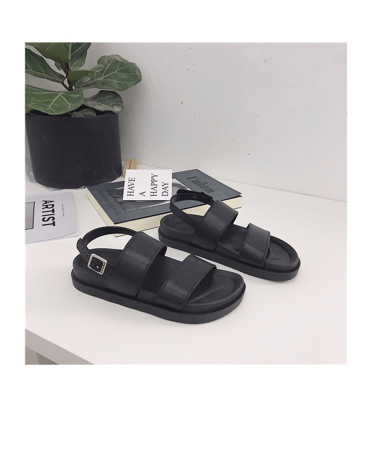 TB2IfeblviSBuNkSnhJXXbDcpXa !!1102525876 Mazefeng 2018 New Fshion Summer Women Shoes Rome Style Women Casual Sandals Solid Black Buckle Ladies Sandals Vintage Flats