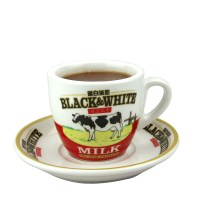[USD 14.80] Black and white Milk cup tea cup coffee cup ...