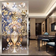 Decorative Screens For Living Rooms Decor Ideas Small Room Art Glass Background Wall European Style Custom Entrance Partition All Categories