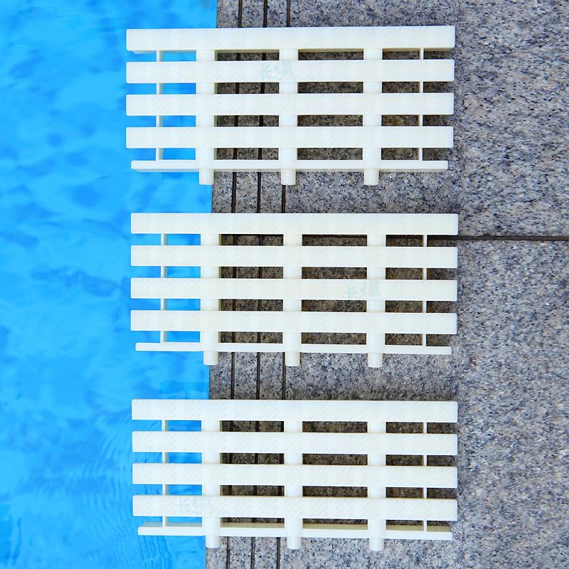 kitchen gutter designers long island 游泳池浴池厨房排水沟盖板地沟溢水格栅防滑水篦子abs板块特厚 iz