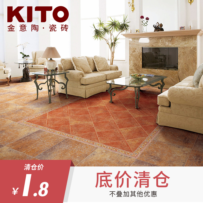 ceramic tile living room floor tuscan style decorating ideas usd 12 53 gold italian tiles bedroom antique brick european