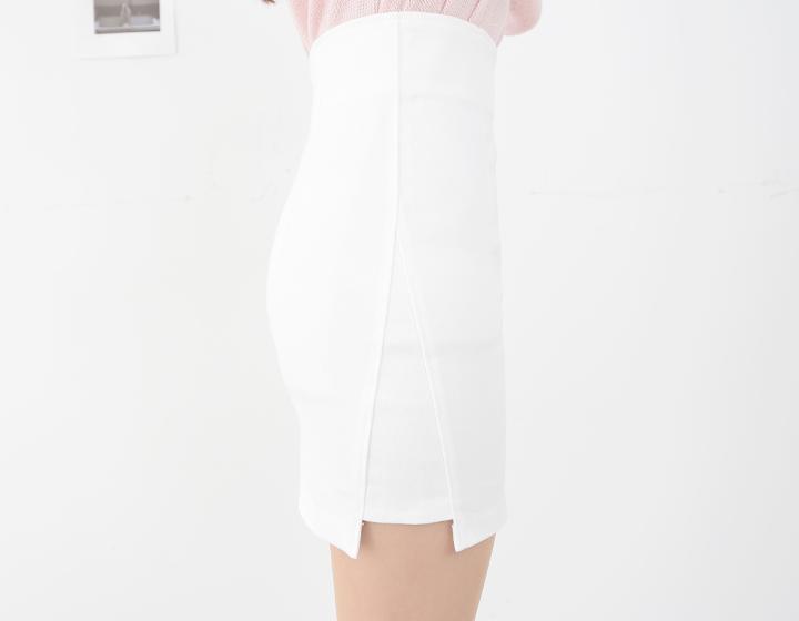 短裙夏半身裙2017韓版白色包裙 高腰彈力一步裙職業裙 ol包臀裙夏