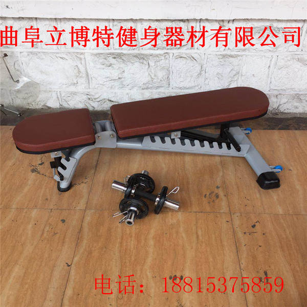 gym bench press chair desk with wheels commercial multifunctional equipment adjustable dumbbell barbell bird angle fitness