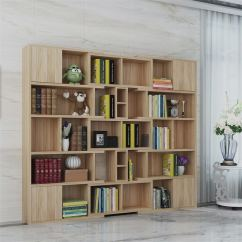 Bookcase Cabinets Living Room Curtains For Uk Usd 769 32 Bookshelf Simple Shelf Office Study Creative Modern Combination Hall Cabinet