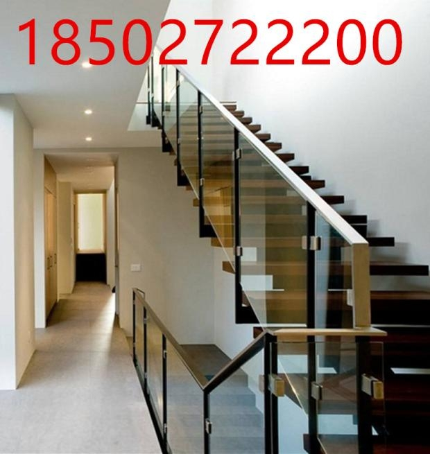 Usd 29 82 Wuhan Dongyu Staircase Glass Guardrail Solid Wood Stair | Stainless Steel Staircase Railing With Glass | Thin Glass | Stairway | Tempered Glass | Handrail | Banister