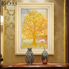 Feng Shui Art For Living Room Shelf Ideas Usd 65 04 Qianhu Decorative Painting Lucky Allegory Porch Aisle Wall Mural European Oil