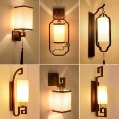 Wall Lamps For Living Room Marble Table Sets Usd 39 14 New Chinese Lamp Bedside Bedroom Corridor Aisle Staircase Lights Creative Hotel Project