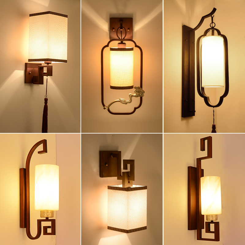 wall fixtures for living room design ideas a small formal usd 39 14 new chinese lamp bedside bedroom corridor aisle staircase lights creative hotel project