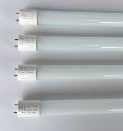 foshan lighting fsl crystal series t8 led tube full set fluorescent tube lamp holder light tube 8w12w16w18w [ 4032 x 3024 Pixel ]