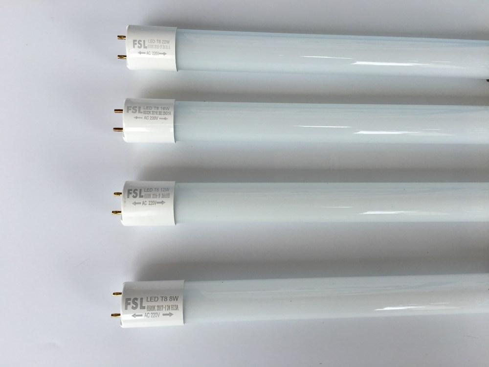 medium resolution of foshan lighting fsl crystal series t8 led tube full set fluorescent tube lamp holder light tube 8w12w16w18w