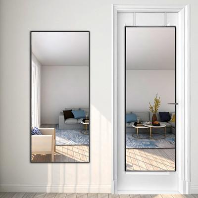 全身鏡掛門後全身鏡壁掛全身鏡黏貼家用貼牆臥室學生宿舍低價鏡子