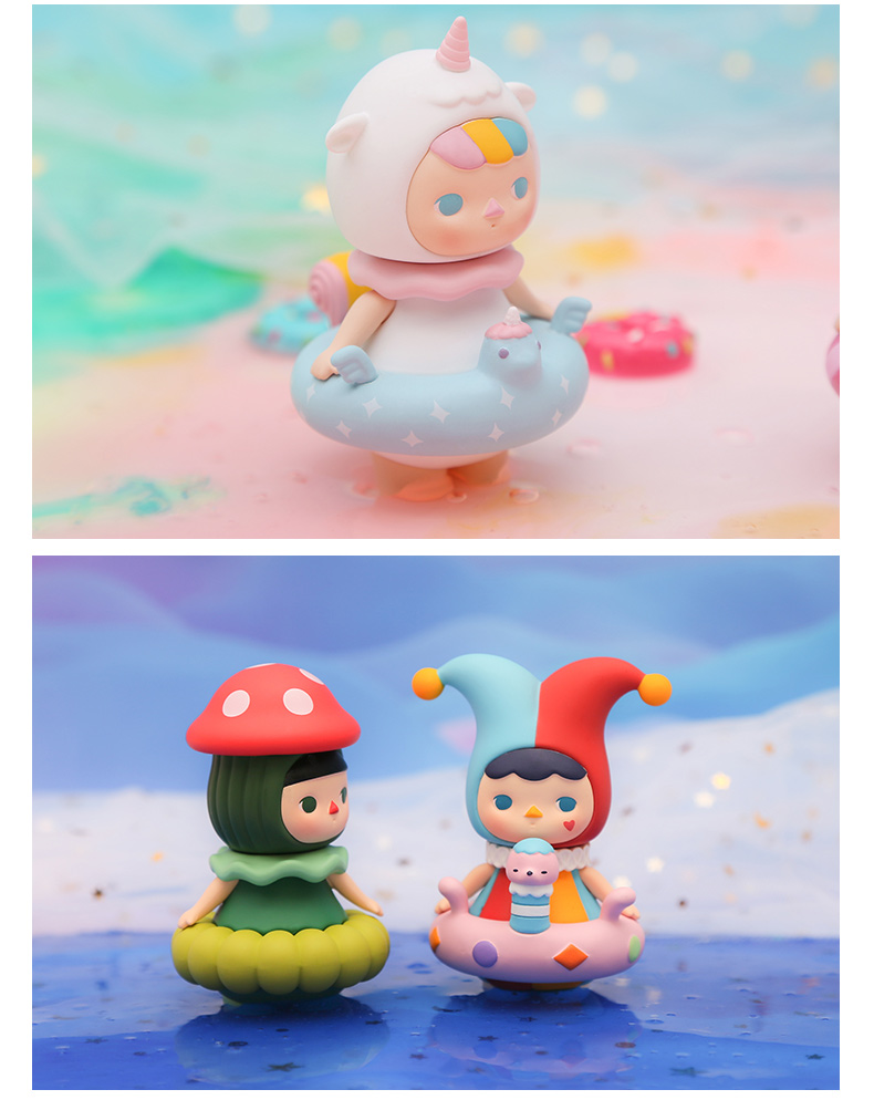 POPMART泡泡瑪特 畢奇泡泡圈盲盒系列娃娃公仔模型不支持退貨退款