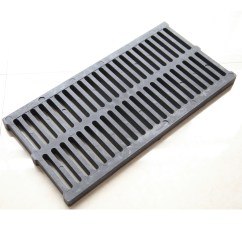 Kitchen Gutter Recessed Lighting Polymer Plastic Trench Cover Slip Proof Rat Resin Drain 500x250x20