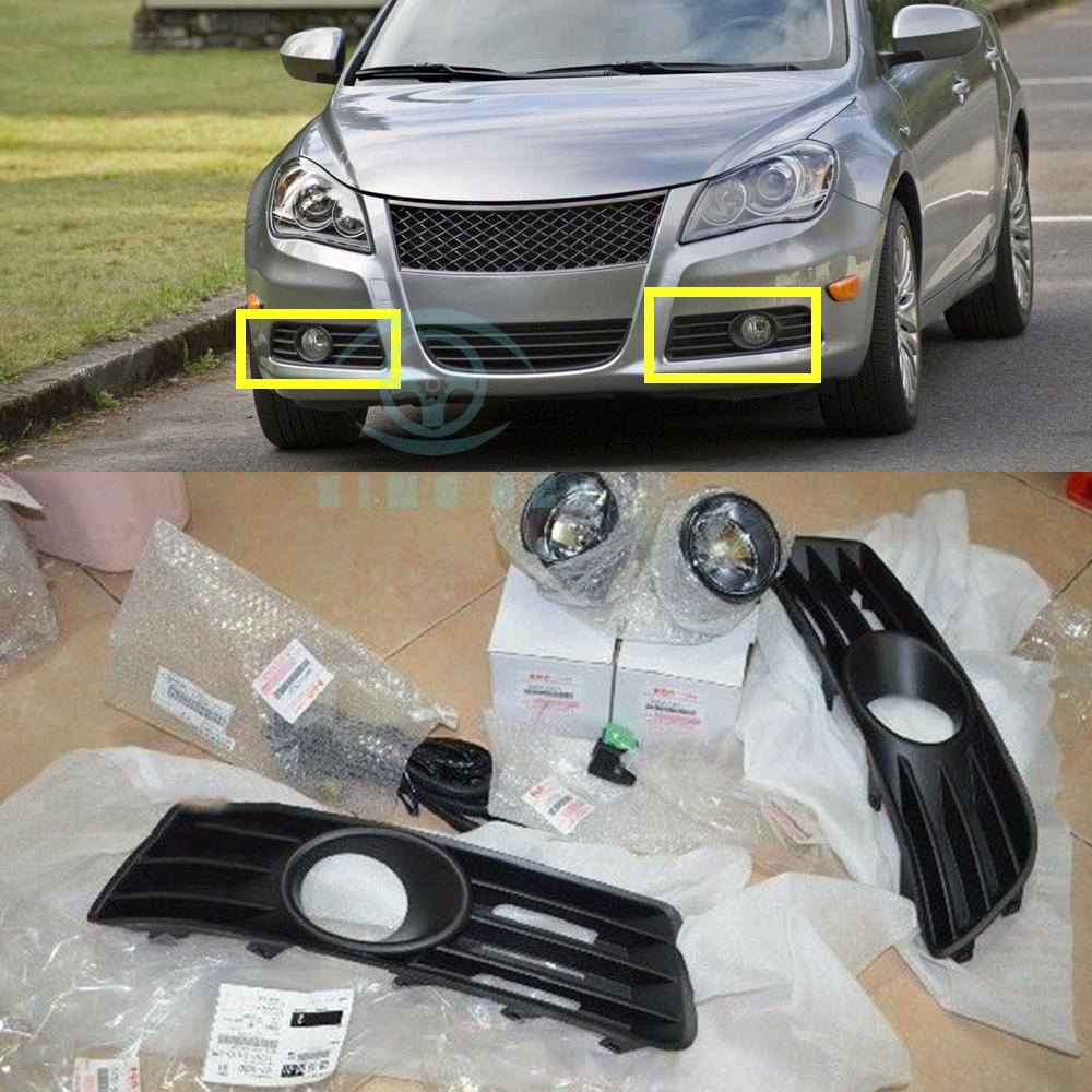 hight resolution of details about for suzuki kizashi fog lamp light kit harness switch 35500 57810