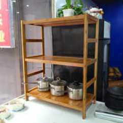 Bamboo Kitchen Cabinets Contemporary Decor 竹厨柜设计 竹厨柜收纳 竹厨柜推荐 店 淘宝海外 厨房架子置物架收纳架厨柜户型浴室实木木制落地式整理