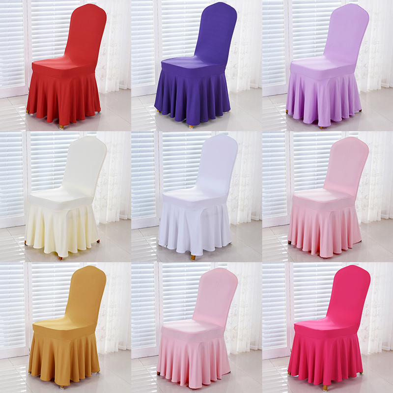 custom banquet chair covers office chairs for big guys usd 8 46 sun skirt hotel stretch set dining cover seat stool