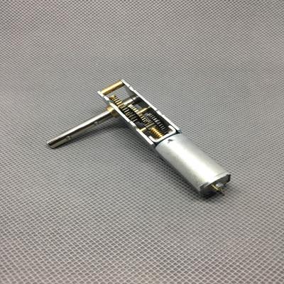 WGF180單頭軸 渦輪蝸桿減速電機 電動窗簾 展示架 玩具模型馬達