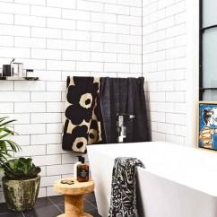 Subway Tile For Kitchen Gray Floor 北欧宜家厨房小瓷砖卫生间墙砖洗手间100x300长条白色平面地铁砖 Tmall