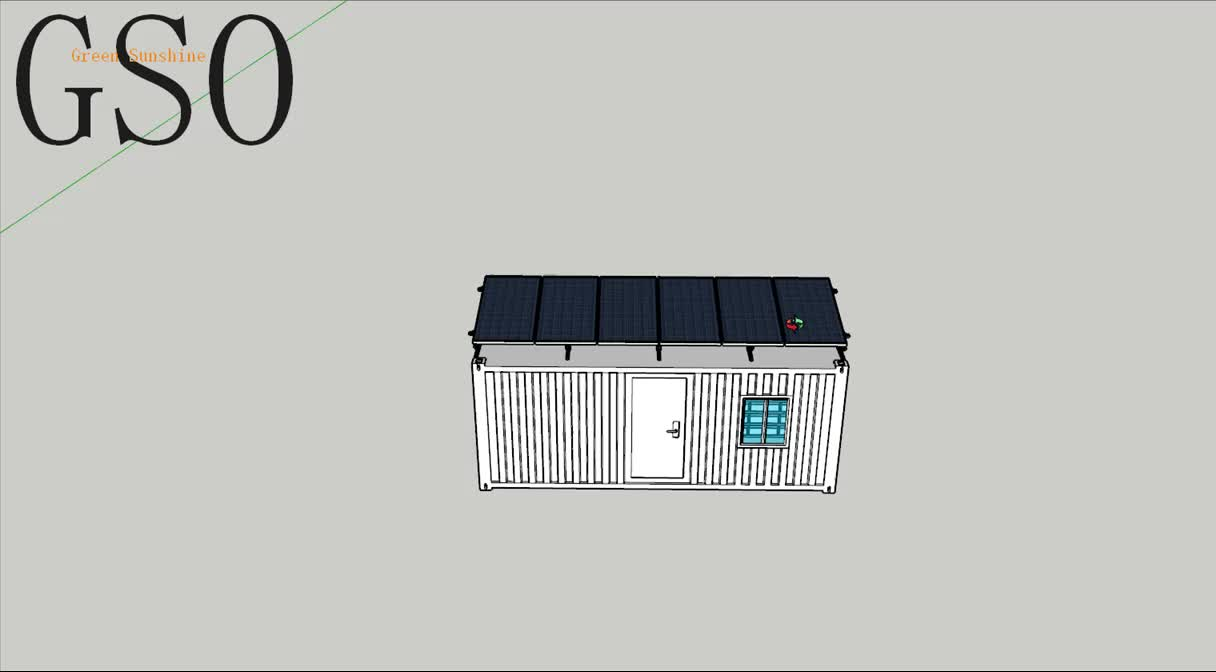 Factory Sales 3kw Solar Panel Off Grid System With All