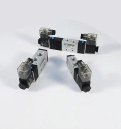 pneumatic directional control valve 4v210 4v220 4v230 4v310 4v320 4v330 4v410 4v420 4v430 wiring diagram solenoid [ 1080 x 1080 Pixel ]