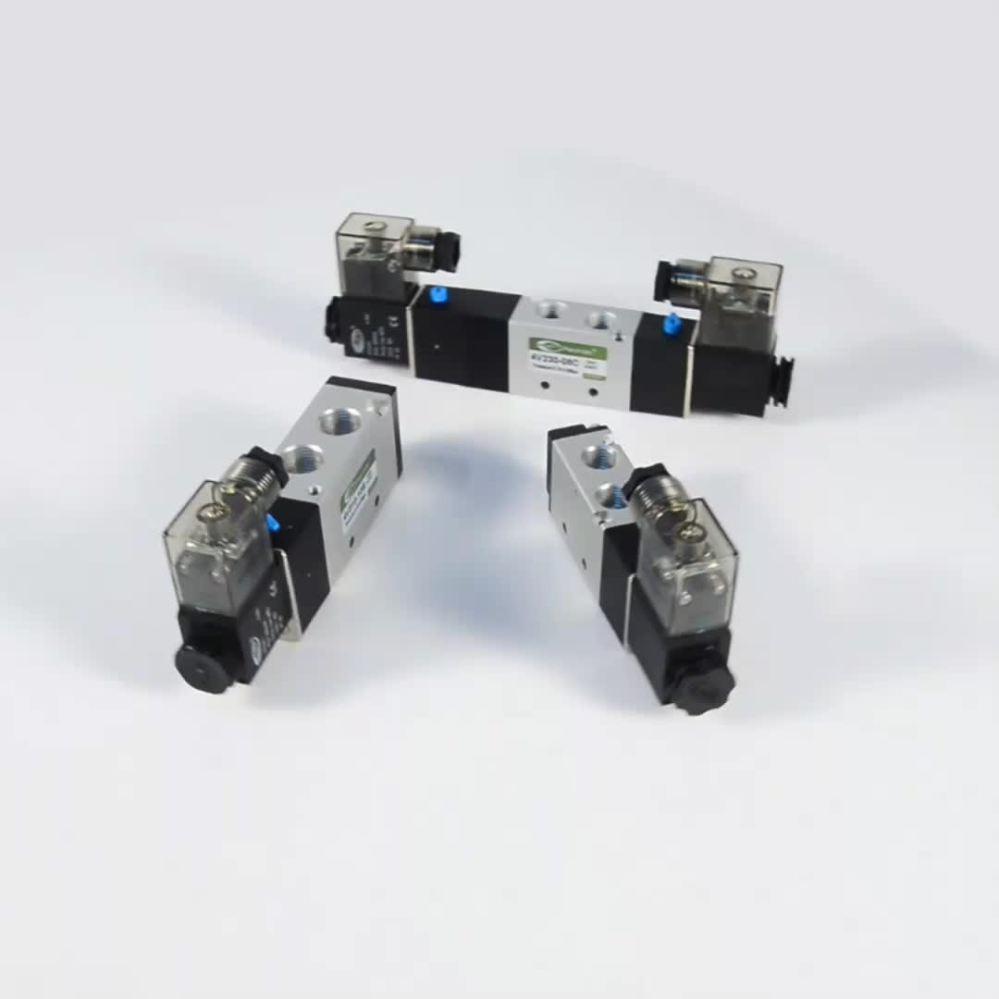 medium resolution of pneumatic directional control valve 4v210 4v220 4v230 4v310 4v320 4v330 4v410 4v420 4v430 wiring diagram solenoid
