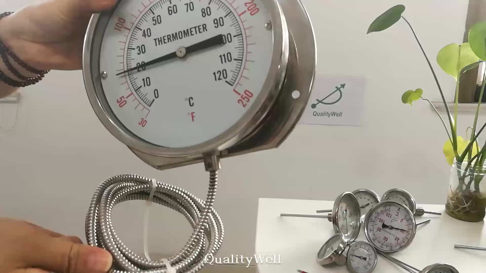Capillary Thermometer To Measure Temperature