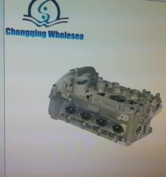 brand new cylinder head 06h103373k for tiguan 1 8t [ 1280 x 720 Pixel ]