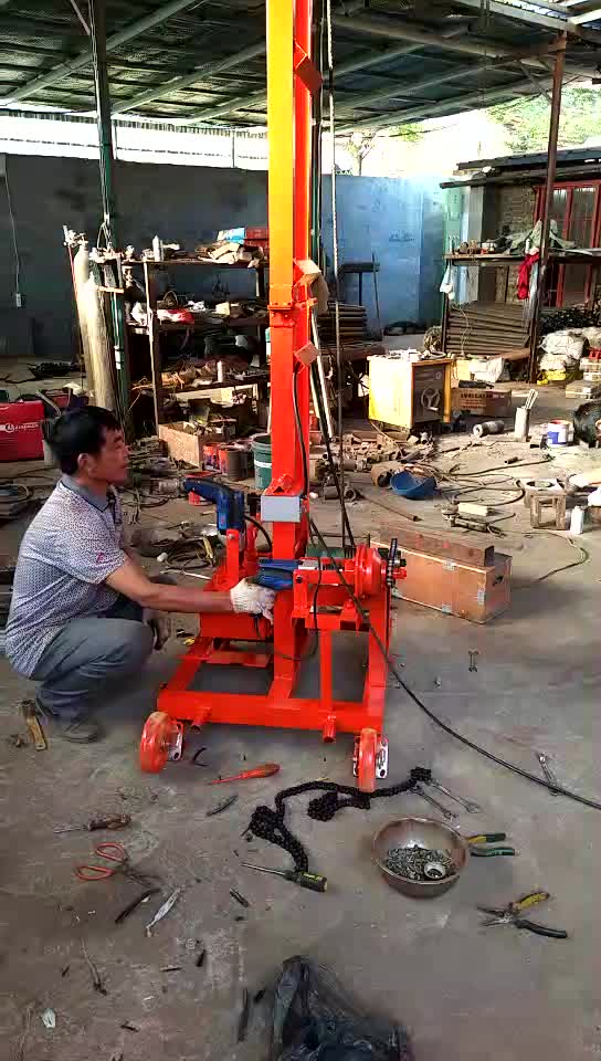 Portable Small Geological Exploration Drilling Rig Mini Coring Rig - Buy Small Water Well Drill Rig.Borehole Drilling Machine.High Quality Water ...