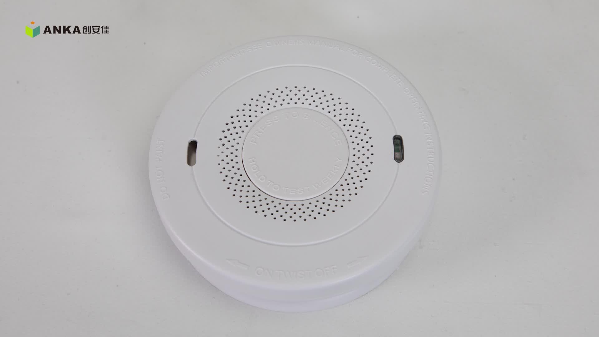 Smoke Carbon Monoxide Alarm Combo Detector Battery