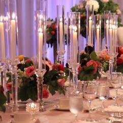 Chairs Wedding Poland For Affairs Melbourne Fl Hot Set Tall Crystal Candlestick Decoration